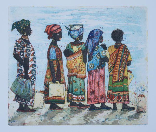 Frauen in Ruanda